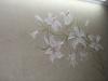 Объемная ветка лилий