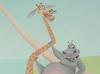 Жираф и бегемот из Мадагаскара