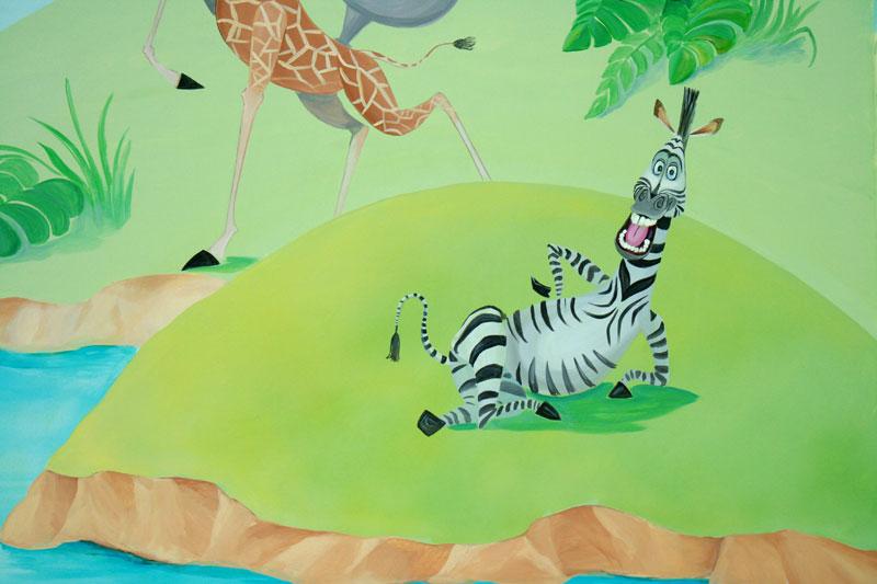 Зебра из Мадагаскара