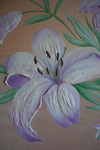 Лилия в зале