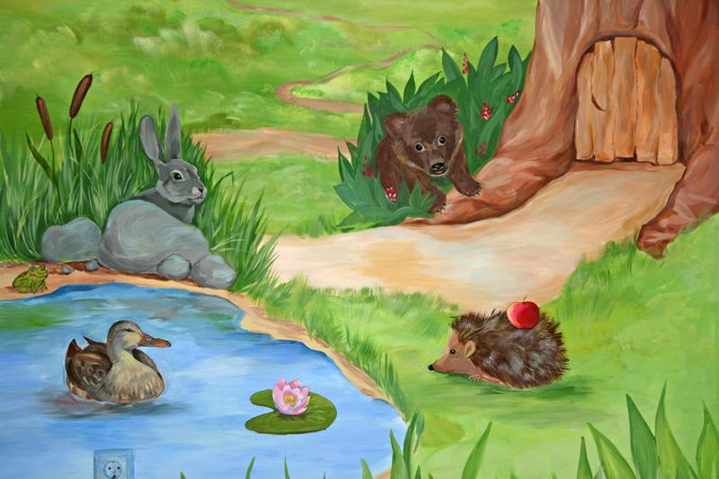 Роспись детской в свободной тематике