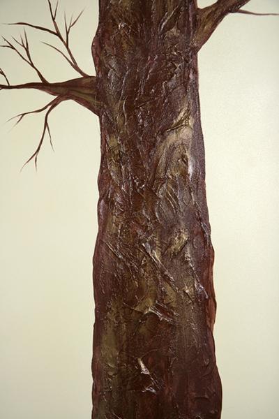 Вешалка – объемное дерево
