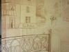 Общий вид на роспись стены слева