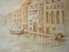 Венеция в стиле гризайль
